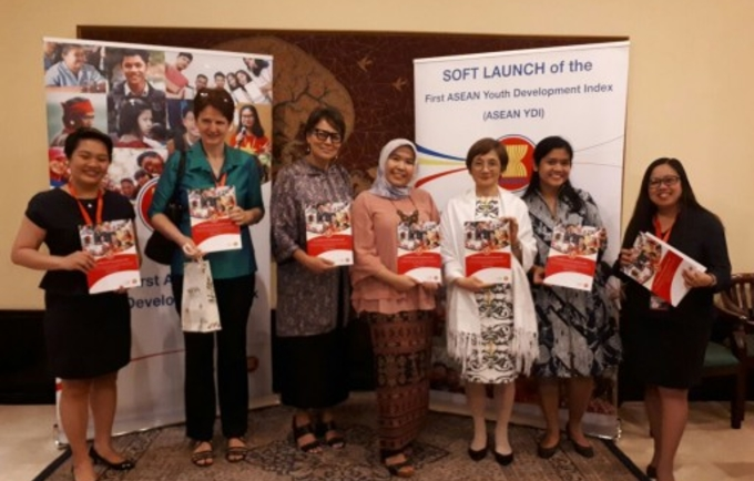 Highlighting youth's role in development at the launch of ASEAN Youth Development Index 2017
