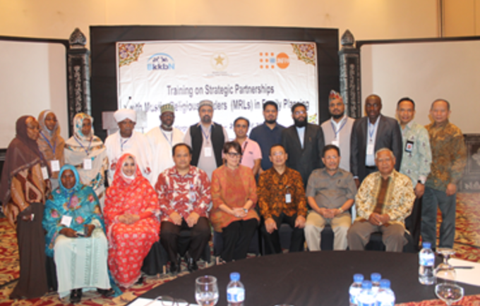 "Participants of the South-South and Triangular Cooperation, ""Developing Strategic Partnerships with Muslim Leaders in Family Planning"" in Yogyakarta, 24-29 April 2017"